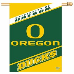 NCAA Oregon Ducks 27-by-37 inch Vertical Flag