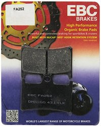 EBC Brakes FA252 Disc Brake Pad Set