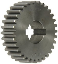 "Boston Gear GF32B Plain Change Gear, 14.5 Degree Pressure Angle, 10 Pitch, 1.250"" Bore, 32 Teeth, Cast Iron"