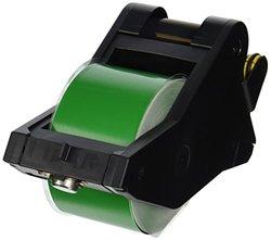 "Brady LabelizerPlus and VersaPrinter Tape Cartridge  B- 595 Indoor/Outdoor Vinyl Film Size:   2.25"" x 90'   BLK/GRN 1PK"