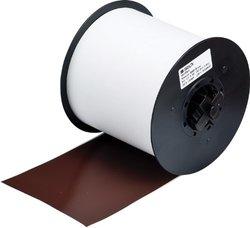 "Brady 115759 MiniMark Industrial Label Printer Super Tough Vinyl Tape, Vinyl Film with Permanent Adhesive, 4.000"" x 100' 4.000"" x 100'"