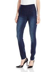 DKNY Women's Body Sculpt Skinny Jeans - Deep Sea - Size: 10