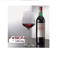 Wine Enthusiast Fusion Infinity Cabernet/Merlot Wine Glasses