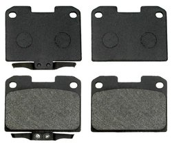 ACDelco 17D631 Professional Organic Rear Disc Brake Pad Set