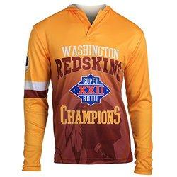 NFL Washington Redskins Super Bowl XXII Champions Hoody Tee, Small