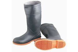 Onguard PVC/Nitrile Sureflex Men's Knee Boots - Grey/Orange - Size: 7