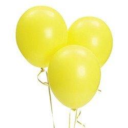 Fun Express 11in Citrine Yellow Balloons