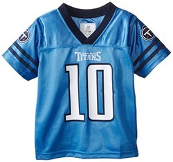Tennessee Titans Jake Locker Toddler Team Replica Jersey - Navy - Size: 3T