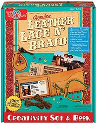 T.S. Shure Genuine Leather Lace N' Braid Creativity Set & Book
