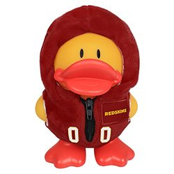NFL Washington Redskins Uniform Duck Bank, Red