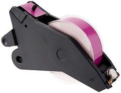 "Brady LabelizerPlus and VersaPrinter Tape Cartridge  B- 595 Indoor/Outdoor Vinyl Film Size:  1.125"" x 90'   WHT/MGN  2PK"