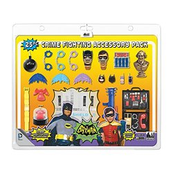 Figures Toy Batman 25-Pcs Classic TV Series Crime Fighting Accessory Pack