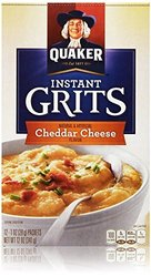 Quaker Instant Grits Cheddar Cheese Flavor 12 Packets