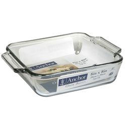 Anchor Hocking Oven Basics Casserole Dish with Lid - Clear