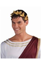 Forum Novelties Roman Gold Leaf Wreath Headpiece Costume Accessory