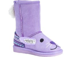 MUK LUKS Zoo Babies Kids Boots: Lily Bunny/10