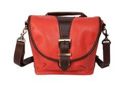 Kelly Moore Riva Camera Bag with Adjustable Messenger Strap & Shoulder Pad (Tangerine)