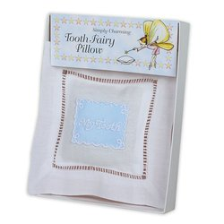 Simply Charming Tooth Fairy Pillow - Made in USA (Blue)