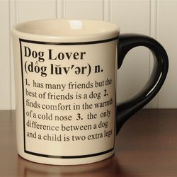 Tumbleweed 'Dog Lover' Definition Occupation Mug