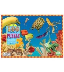 eeBoo Sea Food Puzzle For kids -100 Piece