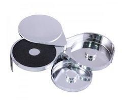Chrome Plated 3-Tier Salt Rimmer