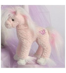Douglas Cuddle Toys 9-Inch Pink Butterfly Horse Toy