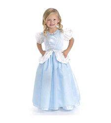 Little Adventures Girl's Cinderella Dress Up Costume - Deluxe - Size: XL