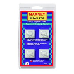 Dowling Magnets DO-735000 Four Ceiling Hook Magnets