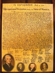 American Documents The Declaration of Independence Jigsaw Puzzle (750-Piece)