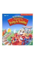 """TLC Reader Rabbit """"Playtime For Baby & Toddler"""" Leraning Game"""