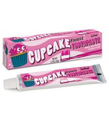 Accoutrements Sweet Cupcake Frosting Flavored Toothpaste - 2.5 oz