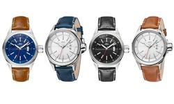 Rook Diamond Men's Watch: J6287e-blue Band/white Dial