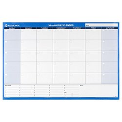 """AT-A-GLANCE 36x24"""" 30/60-Day Undated Reversible Erasable Wall Calendar"""