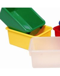 Tote Tray Color: Yellow