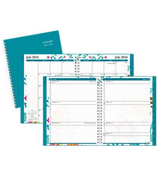 """AT-A-GLANCE  Weekly/Monthly Appointment Book, 8 1/2"""" x 11"""", 30% Recycled, Evelina, July 2016-June 2017"""