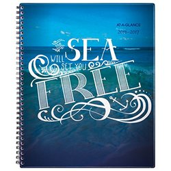"At-A-Glance 8-1/2""x11"" July 2016 - June 2017 Insta-note Planner Book"