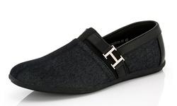 Franco Vanucci Men's Roberto 15 Driver Shoes - Black - Size: 11.5