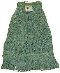 Zephyr HC/Blend 4 Ply Yarn Health Care Loop Mop Head - Green - Size: M