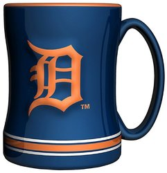Great American Detroit Tigers Ceramic Mug Set - Multi