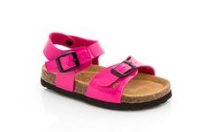 Coco Jumbo Girls Linda-3 Sandals - Fuchsia - Szie: 3.5