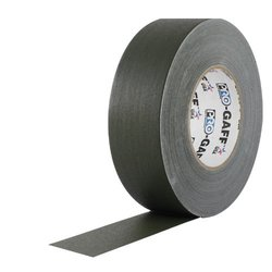 """ProTapes 55-yds 3"""" Gaff Matte Cloth Gaffer Tape - 16-Pack - Olive Drab"""