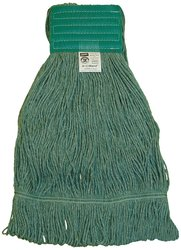 "Zephyr HC/Blend Loop Mop Head with 5"" Mesh Wide Band (28261) - Pack of 12"