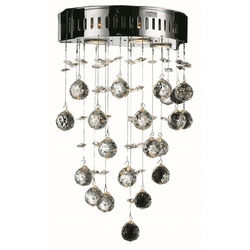 Galaxy 5-Light 17-inch Height Royal Cut Wall Sconce - Crystal Clear