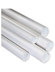 Staples 18-inch x 1-inch Mailing Tube - White
