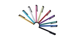 Insten Colorful Universal Touch Screen Stylus Pens 10 Pc for Smarphones