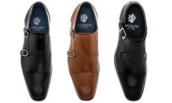 Adolfo Couture Milan Men's Dress Shoes - Milan-8/Black - Size: 10.5
