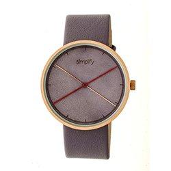 Simplify The 4100 Men's Watch: Sim4105 Lavender Band-lavender Dial