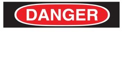 Brady Globalmark OSHA Danger Tag - Pack of 165