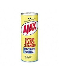 Ajax Oxygen Bleach Powder Cleanser Can - 24/Carton 21oz