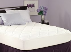 Pacific Coast Spring Air Illuna Plush Comfort Mattress Pad - Size: Full